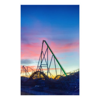 rollercoaster amusement ride stationery