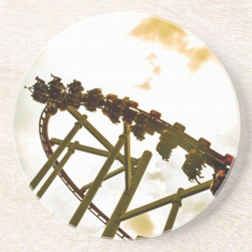 Rollercoaster Beverage Coaster