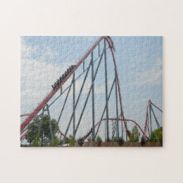 Rollercoaster Jigsaw Puzzle