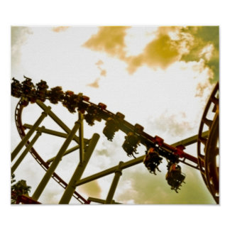 Rollercoaster Poster