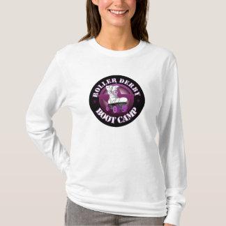 RollerDerbyBootCamp long sleeve t shirt
