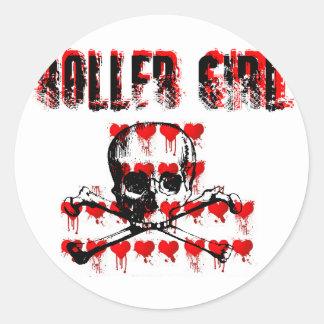 ROLLERGIRL CLASSIC ROUND STICKER