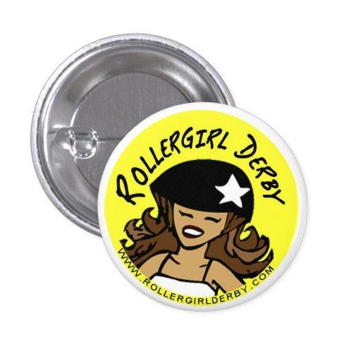 Rollergirl Derby Buttons!
