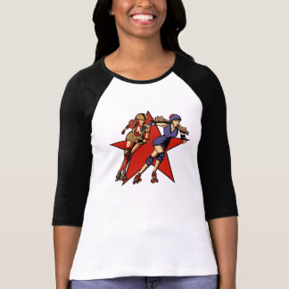 Rollergirl jammers tee shirt
