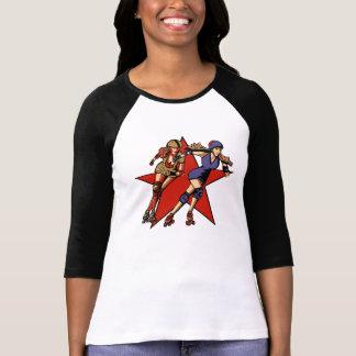 Rollergirl jammers tee shirt
