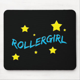 Rollergirl Mouse Pads