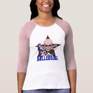 rollergirl camiseta