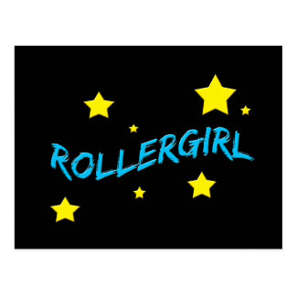 Rollergirl Postcard