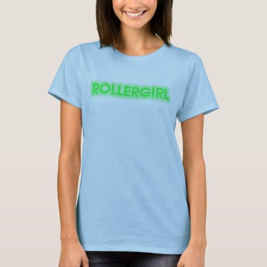 Rollergirl tee
