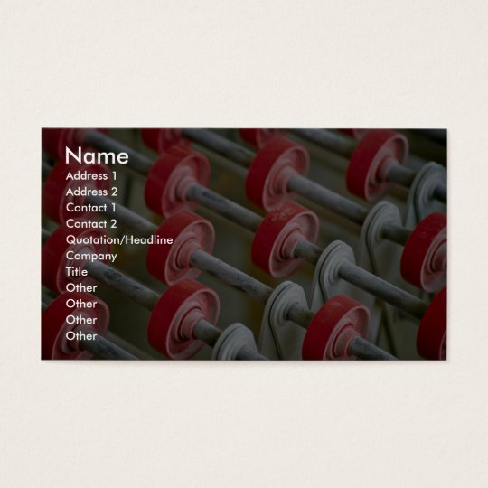 Rollers Business Card