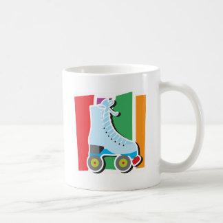 Rollerskate Classic White Coffee Mug