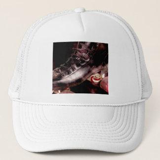 Rollerskate Roller Derby Grunge Style Trucker Hat