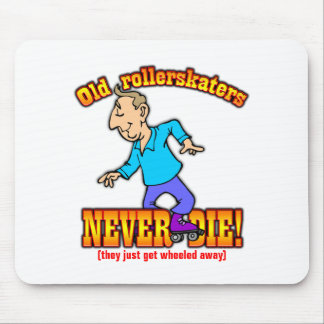 Rollerskaters Mouse Pad