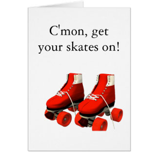 Rollerskates Greeting Card