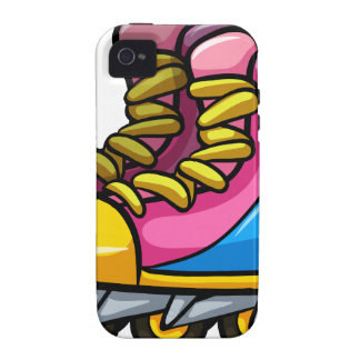 Rollerskates iPhone 4/4S Cases