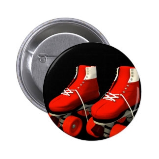 Rollerskates Pinback Button