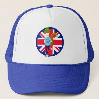 Rollerskating Fox Trucker Hat