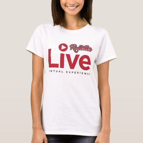 Rollettes Experience Virtual Live t_shirt
