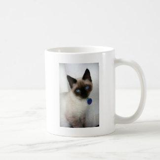 Rollie Blue Eyes Classic White Coffee Mug