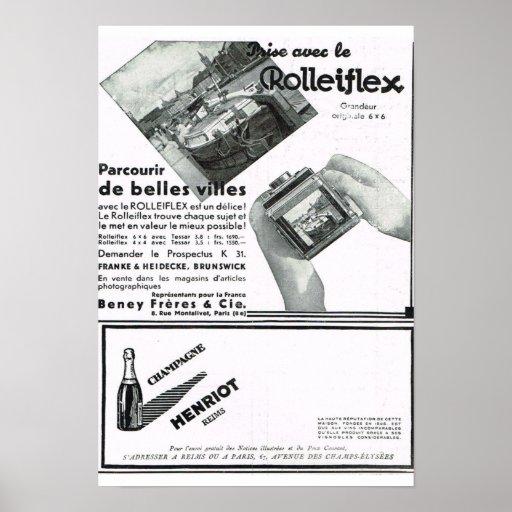 Rolliflex Poster