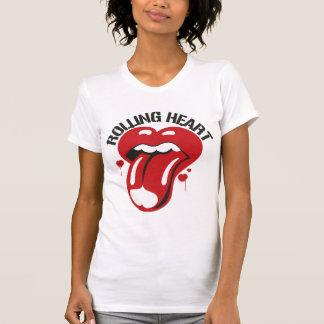 rolliing heart-5 T-Shirt