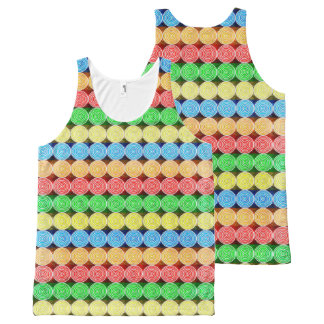 Rollin' All-Over-Print Tank Top