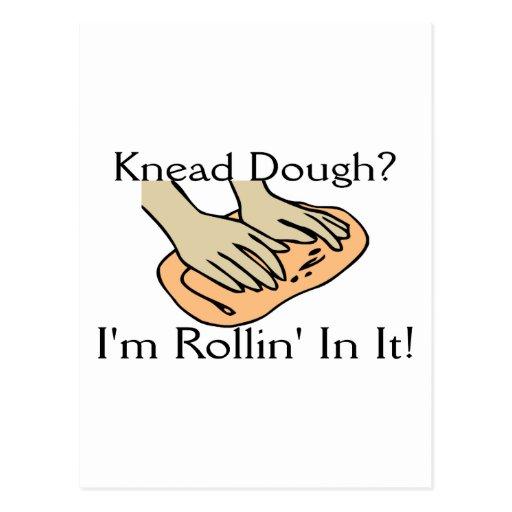 Rollin' Dough Post Card