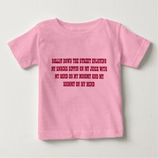 Rollin down the street creeper. baby T-Shirt