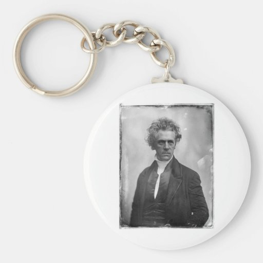 Rollin Heber Neal ~ Portrait 1850 Basic Round Button Keychain