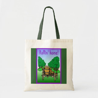Rollin home tote bags