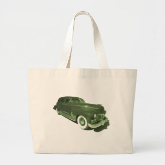 Rollin in a Cadillac Canvas Bags