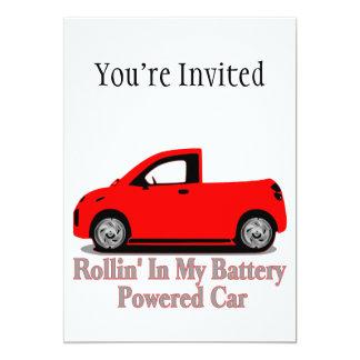 Rollin' In My Battery Car Card