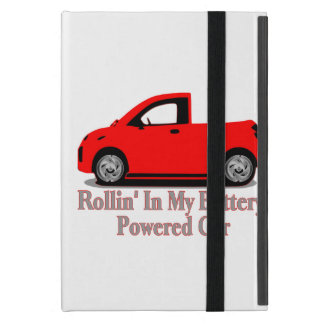 Rollin' In My Battery Car iPad Mini Cover