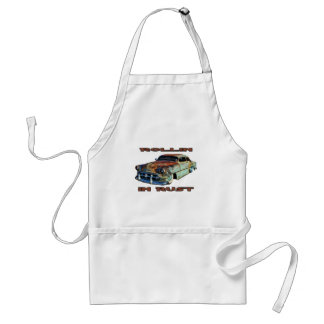 Rollin In Rust Chopped Chevy Adult Apron