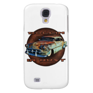 Rollin in rust Tail Dragger Chopped Chevy Samsung Galaxy S4 Case