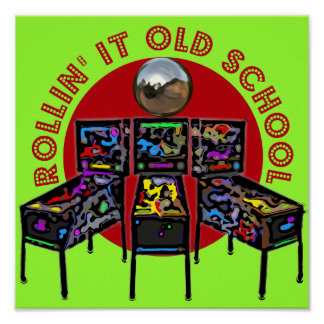 Rollin' It Old School Poster