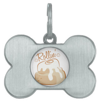 Rollin Pet Name Tags