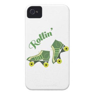 Rollin Skates iPhone 4 Case-Mate Case
