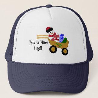Rollin' Snowman Trucker Hat