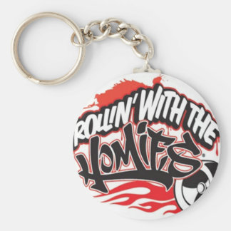 Rollin' with the Homies® Basic Round Button Keychain