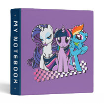 Rollin' with the Ponies Binder