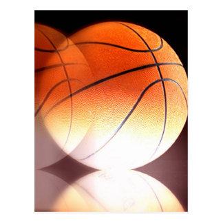Rolling Basketball Postcard