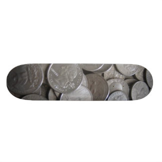 Rolling Coin Skateboard