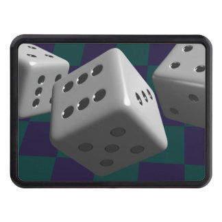 Rolling Dice Trailer Hitch Cover