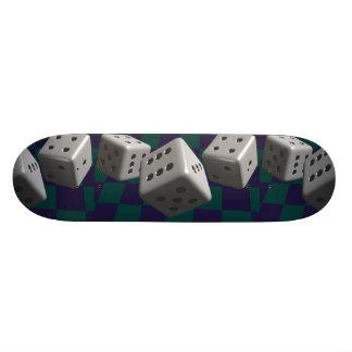 Rolling Dice Skateboard