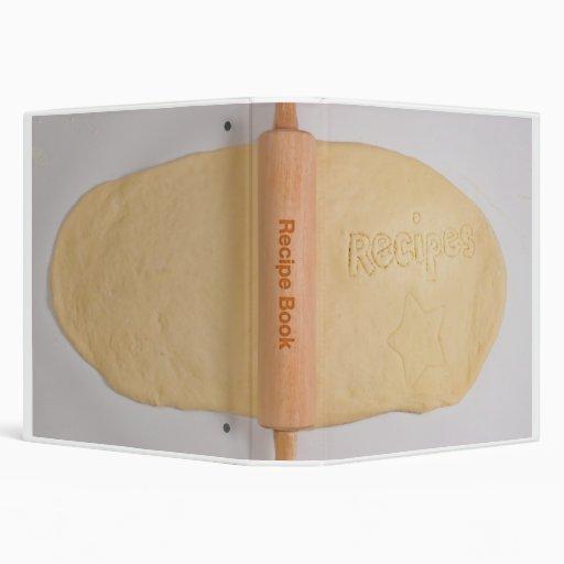 Rolling Dough Avery Recipe Binder