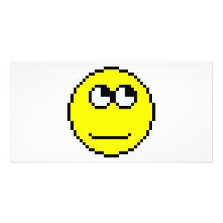 Rolling Eyes Emoticon Card