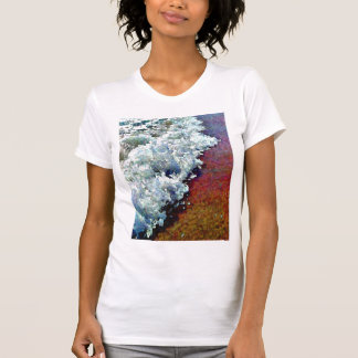 Rolling Froth Ladies Petite T-Shirt