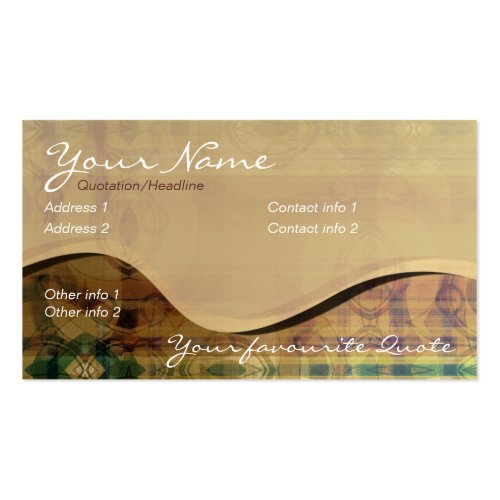 Rolling Hills Business Card