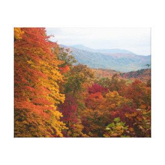 Rolling Hills en el otoño Impresión En Lienzo